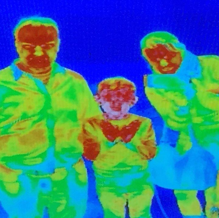 Die Wärmebildkamera bringt das Entdecker-Gen ans Licht.