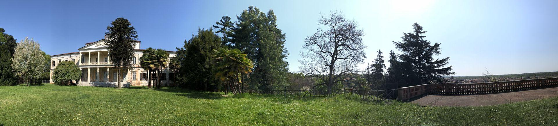 Die Villa Caccia im romantischen Weinstädtchen Romagnano Sesia ist ein weiteres Bauwerk Antonellis.