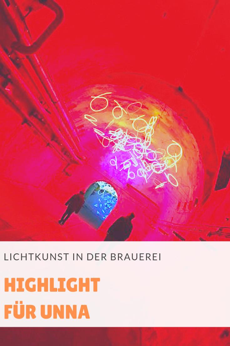 Lichtkunst in Unna