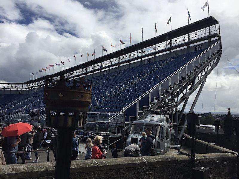 Also, wenn DAS nicht aussieht, wie das Quidditch-Stadion bei Harry Potter - dann weiß ich es auch nicht!