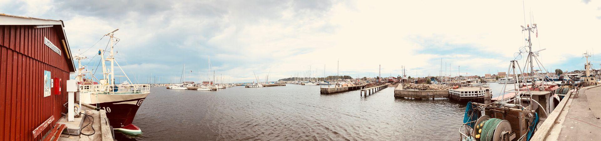 Dänischer geht es kaum als im Hafen von Gilleleje.
