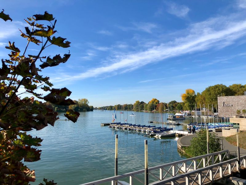 Der Aasee ist 2009 zum schönsten Park Europas ernannt worden.