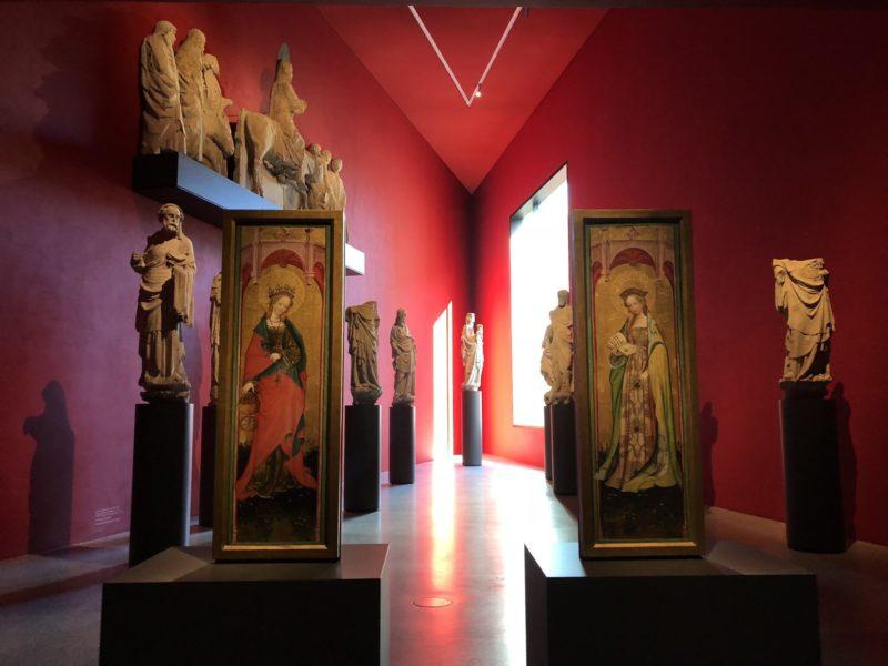 In der Ausstellung wird Geschichte in einer beeindruckenden Umgebung erlebbar.