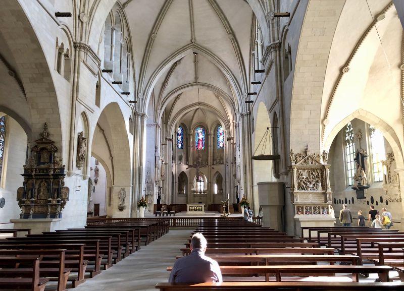 Der Paulus-Dom im Herzen der Stadt ist ein beliebter Anlaufpunkt.