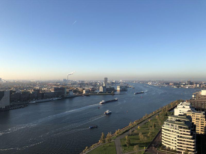 Die Aussicht vom A'DAM Lookout ist atemberaubend.