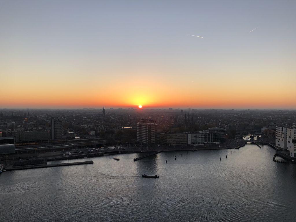 Wer kann diesem Sonnenuntergang schon widerstehen?