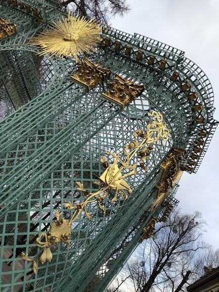 In aller Pracht und Herrlichkeit residierte Friedrich auf Schloss Sanssouci.