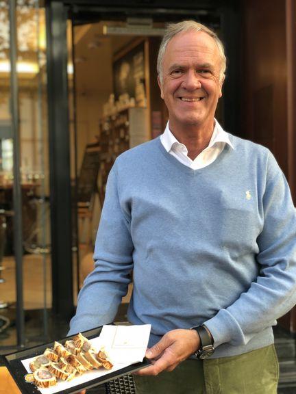 Guillaume Kaempff führt das Traditionsgeschäft am Place Guillaume erfolgreich in dritter Generation. Aber sein Sohn steht bereits in den Startlöchern.
