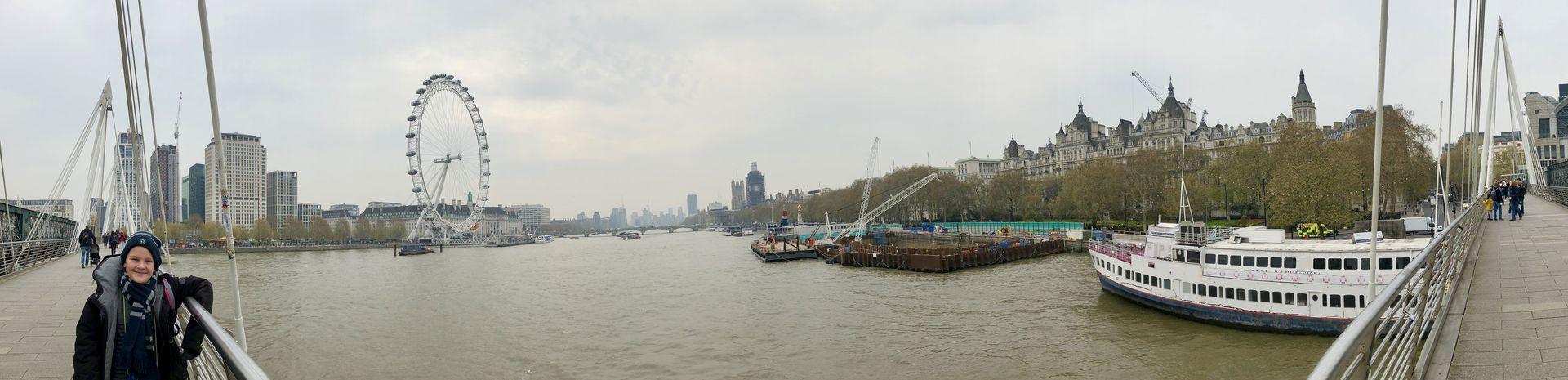 Seit der Jahrtausendwende prägt das Millenium Wheel das Stadtbild von London entscheidend mit.