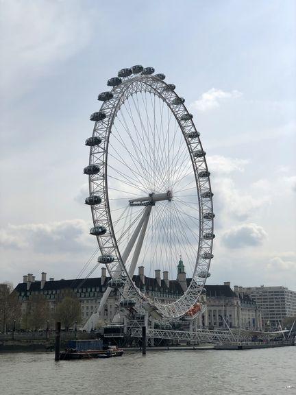 Das London Eye sollte eigentlich nur über die Jahrtausendwende am Themseufer stehen. Aber es entwickelte sich schnell zum Publikumsmagneten.