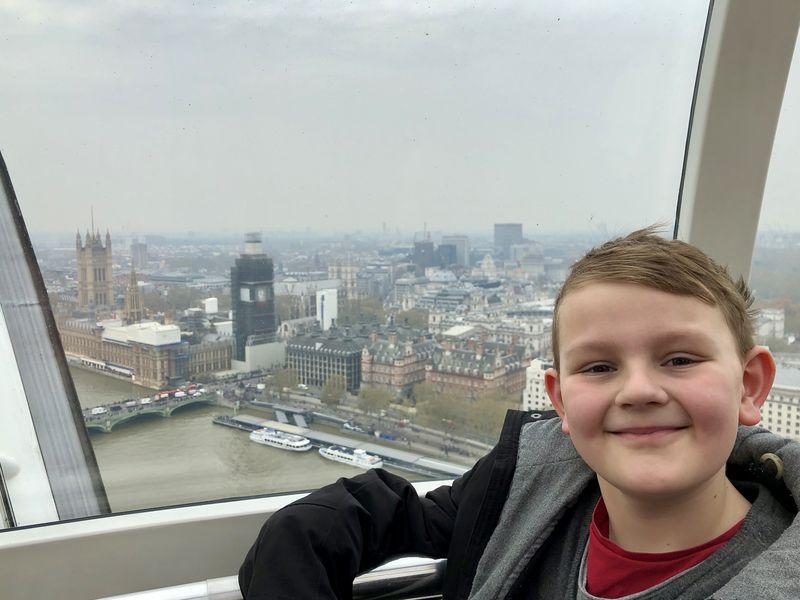 Es ist halt dieser ganz besondere View, den man nur vom London Eye aus genießen kann!