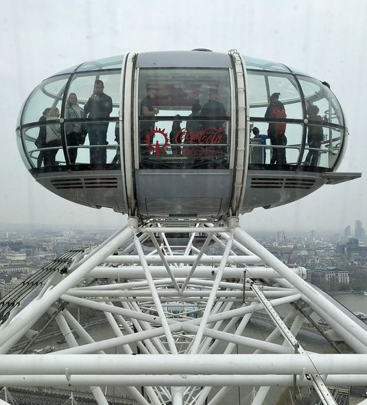 Flight with a view: Das London Eye ist nicht umsonst eine der bekanntesten Attraktionen Londons.