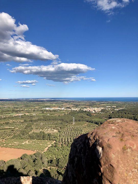 An guten Tagen - so heißt es - sollen Besucher von der Einsiedelei aus bis nach Mallorca schauen können.