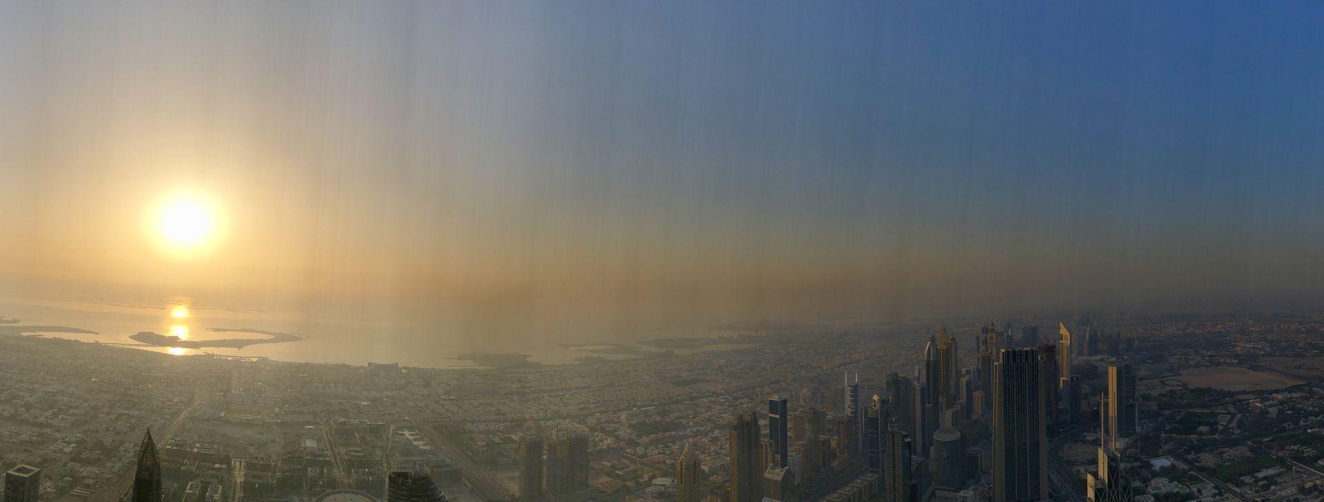 """Was für eine Aussicht! Dabei ist die Plattform """"At the Top"""" gerade einmal auf halber Höhe, nämlich auf 456 Metern."""