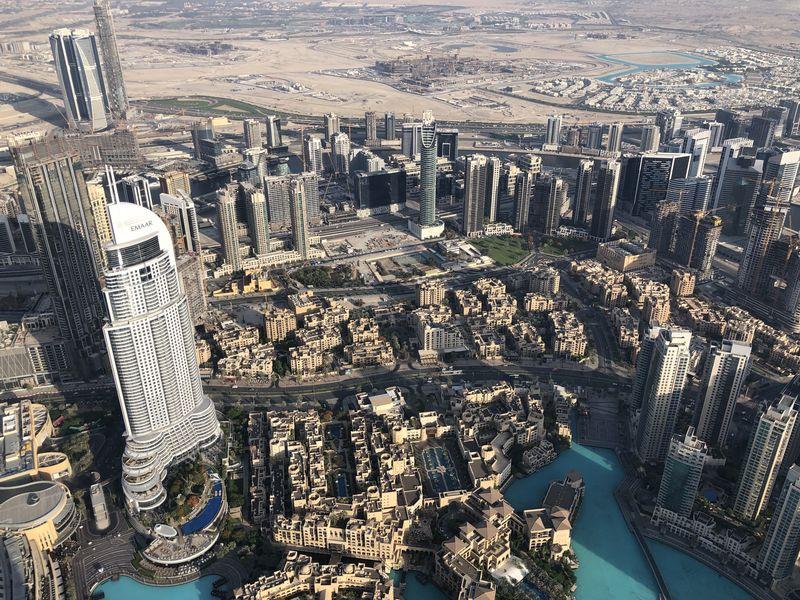 Vor 20 Jahren war hier vor allem eines: Wüste. Doch im Schatten des Burj Khalifa ist mit Dubai Downtown ein komplett neues Stadtviertel entstanden.