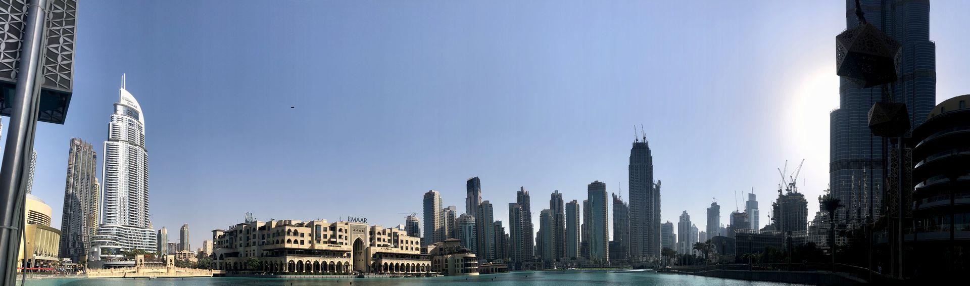 Im Schatten des Burj Khalifa ist ein komplett neues Stadtviertel entstanden: Dubai Downtown.