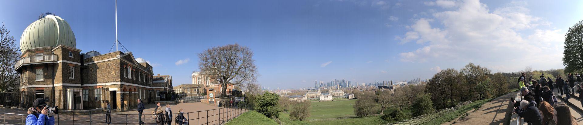 """Nur wenige Minuten von der """"Cutty Sark"""" entfernt beginnt der Greenwich Park mit dem berühmten Royal Observatory, durch das der Nullmeridian verläuft."""