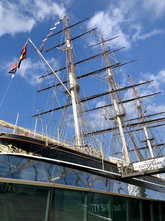 """Die """"Cutty Sark"""" ist eine regelrechte Landmarke am Themseufer in Greenwich. Zu ihrer Wiedereröffnung im April 2012 kam sogar die Queen."""