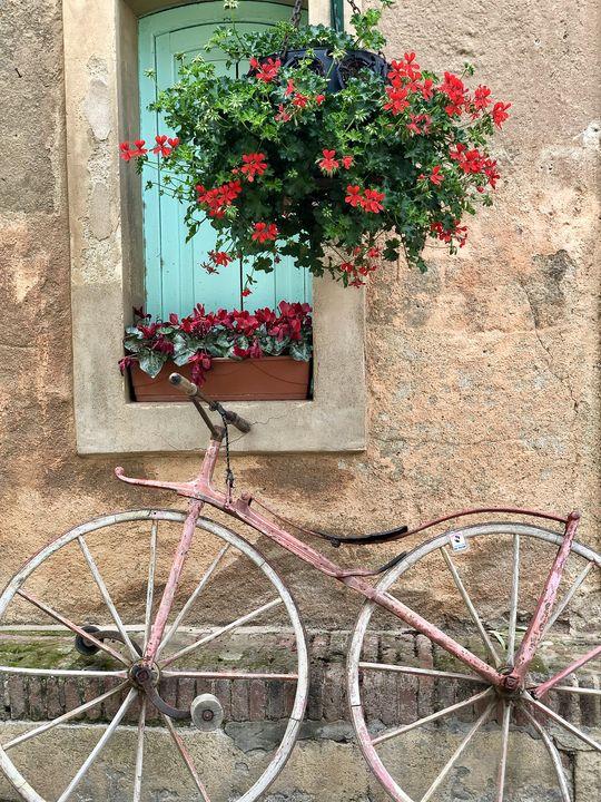 Eigentlich gehört es ins Museum: Dieses Fahrrad stammt noch aus dem Jahr 1880.