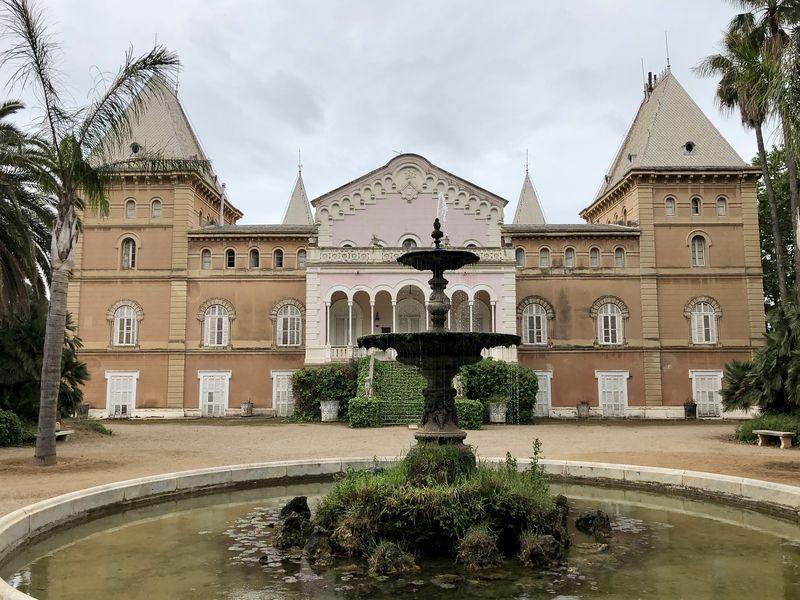 Der prächtige Palast im Parc Samà hat schon viele Berühmtheiten beherbergt.