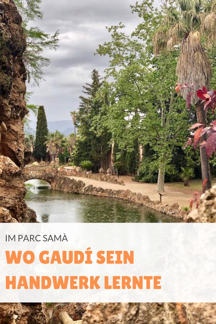 Zwar war Gaudí nicht der verantwortliche Baumeister des Parc Samà - aber die Anlage trägt dennoch klar seine Handschrift.