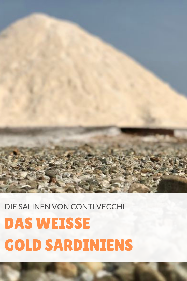 In den Salinen von Conti Vecchi wird seit fast 100 Jahren Salz gewonnen.