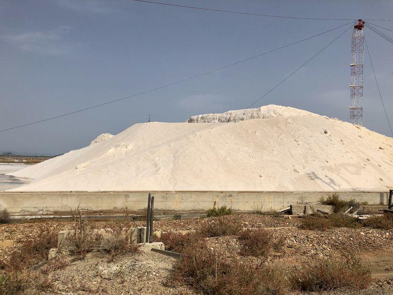 """Die Sammelplätze nennen sich """"Salztenne"""". Tatsächlich erinnert der Salzabbau an die Landwirtschaft."""