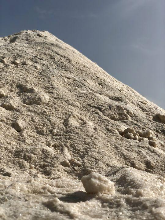 """Das """"weiße Gold"""": Das sardische Salz ist damals wie heute begehrt."""