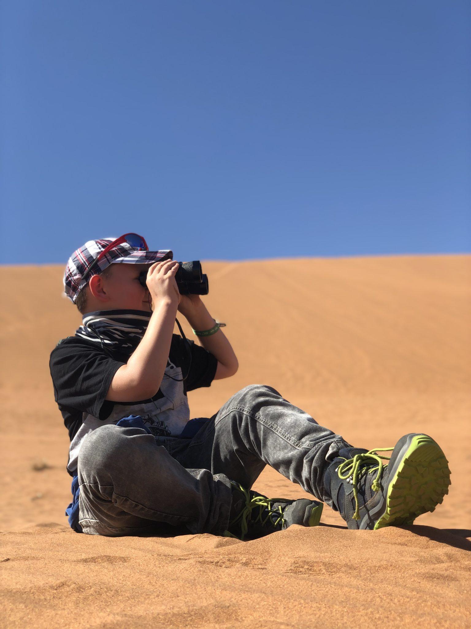 An den roten Sand von Sossusvlei kann ich mich noch gut erinnern - davon hab ich immer noch genug im Schuh!