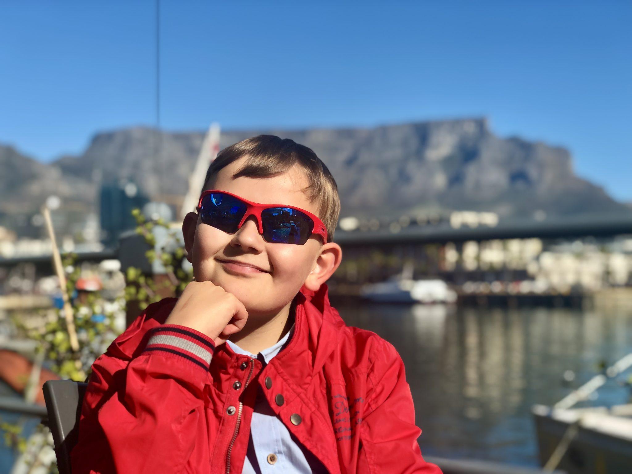 Glück gehabt: Den Tafelberg habe ich bei besten Wetterverhältnissen erlebt!