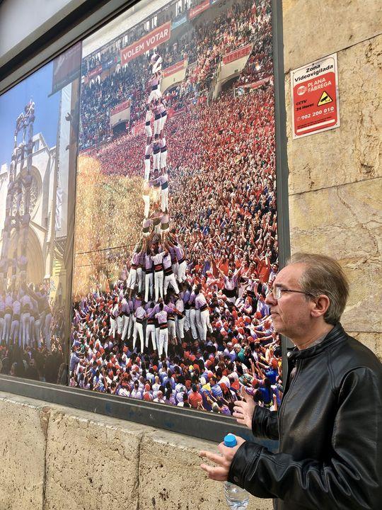 Noch etwas, wofür Tarragona - wie das restliche Katalonien - bekannt ist: die Menschenturm-Pyramiden.