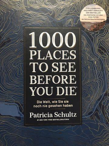"""Die großformatige Geschenkausgabe von """"1000 Places To See Before You Die"""" ist ein echtes Schmuckstück."""