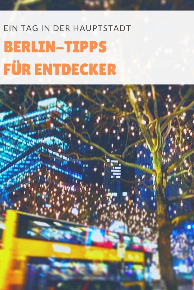 Berlin-Tipps für Fortgeschrittene: Wir haben einen Tag lang mal das etwas andere Hauptstadt-Programm ausprobiert.