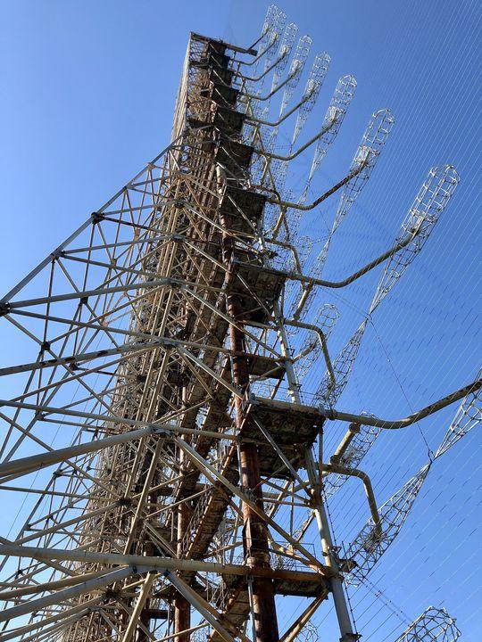 Das Duga-Radar hatte den Funkverkehr bis hin nach Amerika auf dem Schirm.