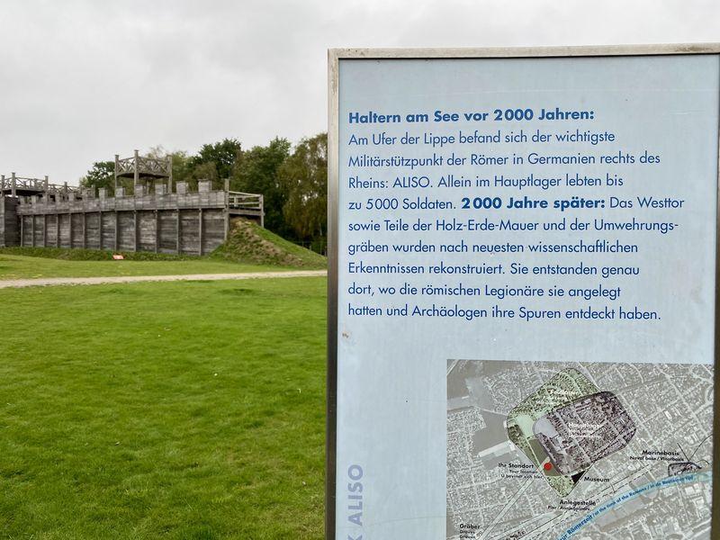 Hier an der Lippe war ein perfekter Punkt, um ein Lager zu errichten. Die Mission: nach Germanien vordringen. Denn das fehlte Kaiser Augustus noch!